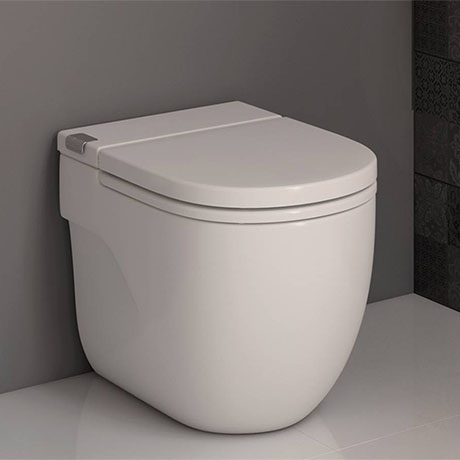 Roca In-Tank Meridian Back To Wall Toilet with Integrated Cistern + Soft Close Seat