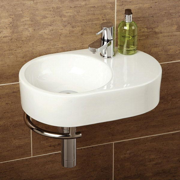 HIB Saville Washbasin with Towel Rail - 8943 Large Image