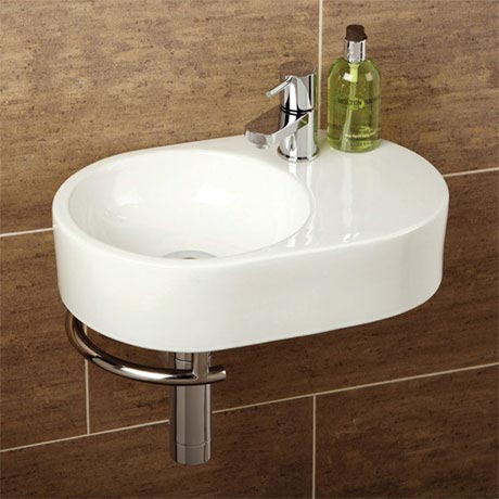 HIB Saville Washbasin with Towel Rail - 8943