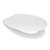 Euroshowers Mellow ONE Anti-Bacterial Soft Close Toilet Seat - 89910 profile small image view 1