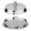 "Chatsworth Traditional 8"" AirTec Chrome Shower Head profile small image view 1"