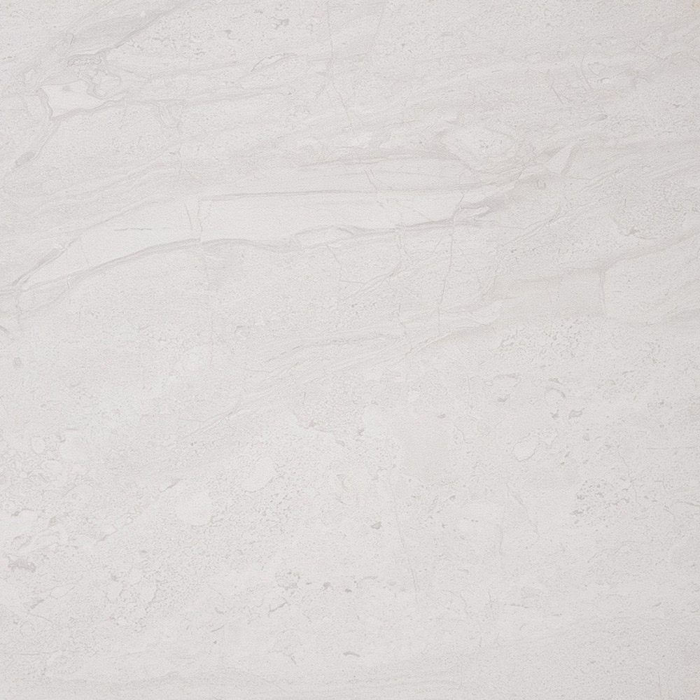 Moda Matt Marble Effect Light Grey Floor Tiles - 30 x 30cm Large Image