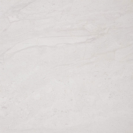Moda Matt Marble Effect Light Grey Floor Tiles - 30 x 30cm