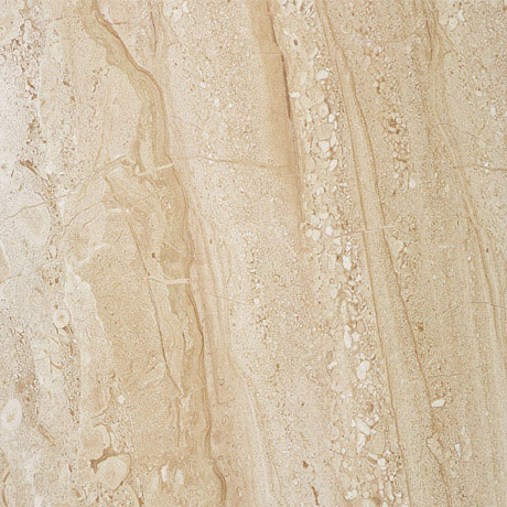 Moda Matt Marble Effect Dark Beige Floor Tiles - 30 x 30cm