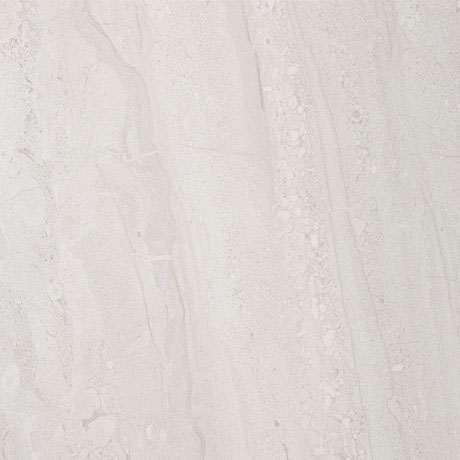 Moda Matt Marble Effect Light Beige Floor Tiles - 30 x 30cm