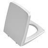 Vitra M-Line White Soft Close Seat & Cover - 90-003-009 profile small image view 1