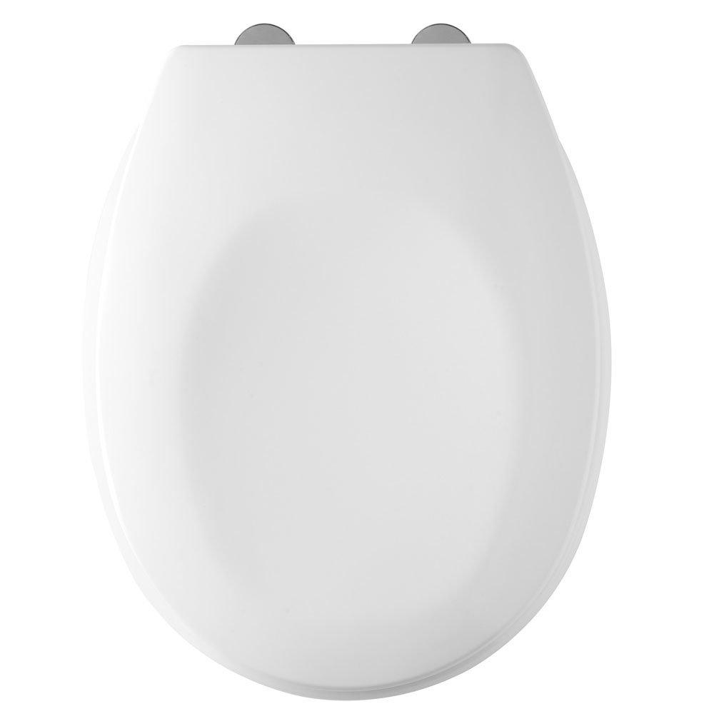 Tavistock Verve White Thermoset Toilet Seat profile large image view 2