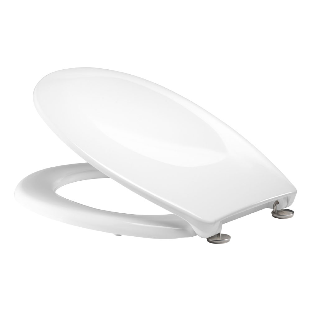 Tavistock Verve White Thermoset Toilet Seat Large Image