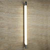 Searchlight Poplar 100cm Chrome T5 Oblong Wall Light with Tubular White Glass - 9021CC profile small image view 1