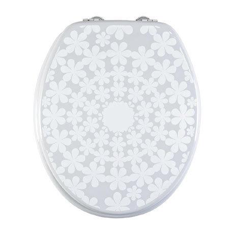 Aqualona Cirque De Fleur MDF Toilet Seat - 90619