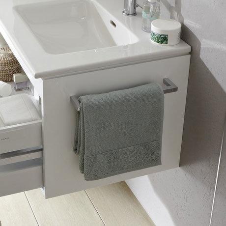 laufen pro s vanity unit towel rail 3 x size options. Black Bedroom Furniture Sets. Home Design Ideas