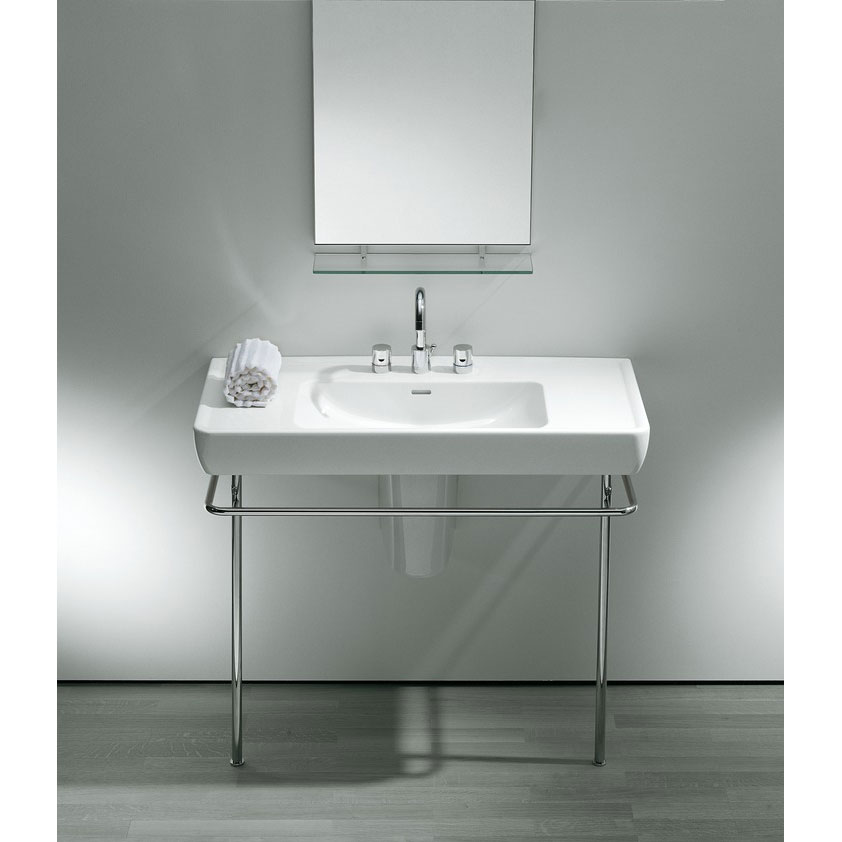 Laufen - Chrome Towel Frame For Pro 850mm Basin - 90956 profile large image view 2