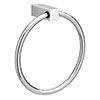 Vela Round Towel Ring - Chrome profile small image view 1