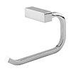 Vela Toilet Roll Holder - Chrome profile small image view 1