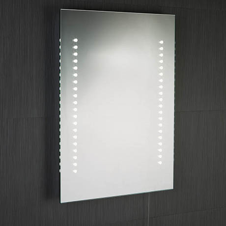 Searchlight Battery Operated LED Illuminated Mirror - 9305
