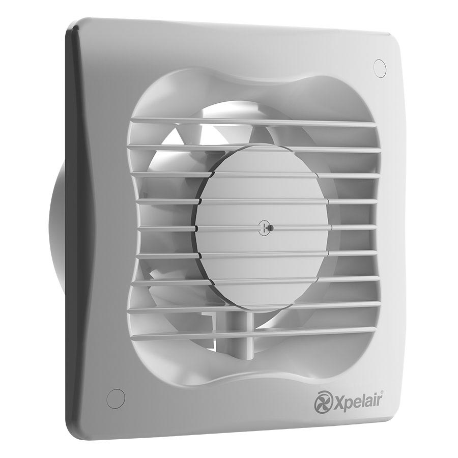 "Xpelair VX100T 4"" Axial Extract Fan With Timer - 93225AW Large Image"