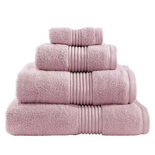 Catherine Lansfield - Zero Twist Towel - Blush - Various Size Options Large Image