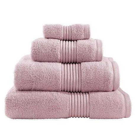 Catherine Lansfield - Zero Twist Towel - Blush - Various Size Options