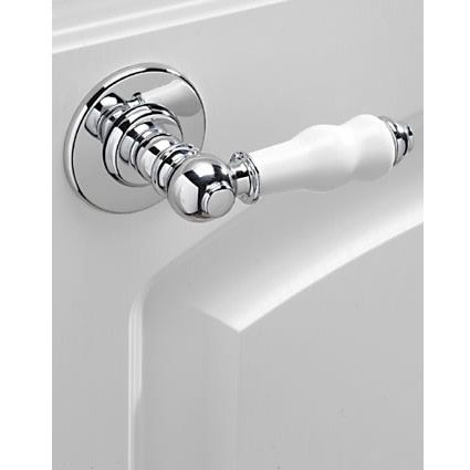 Tre Mercati - Traditional Series 900 (Extended) Cistern Lever - Chrome Plated Profile Large Image