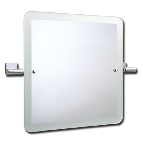 Roper Rhodes Glide Square Swivel Mirror with Frosted Edge - 9504.02