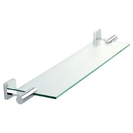 Roper Rhodes Glide Toughened Clear Glass Shelf - 9512.02