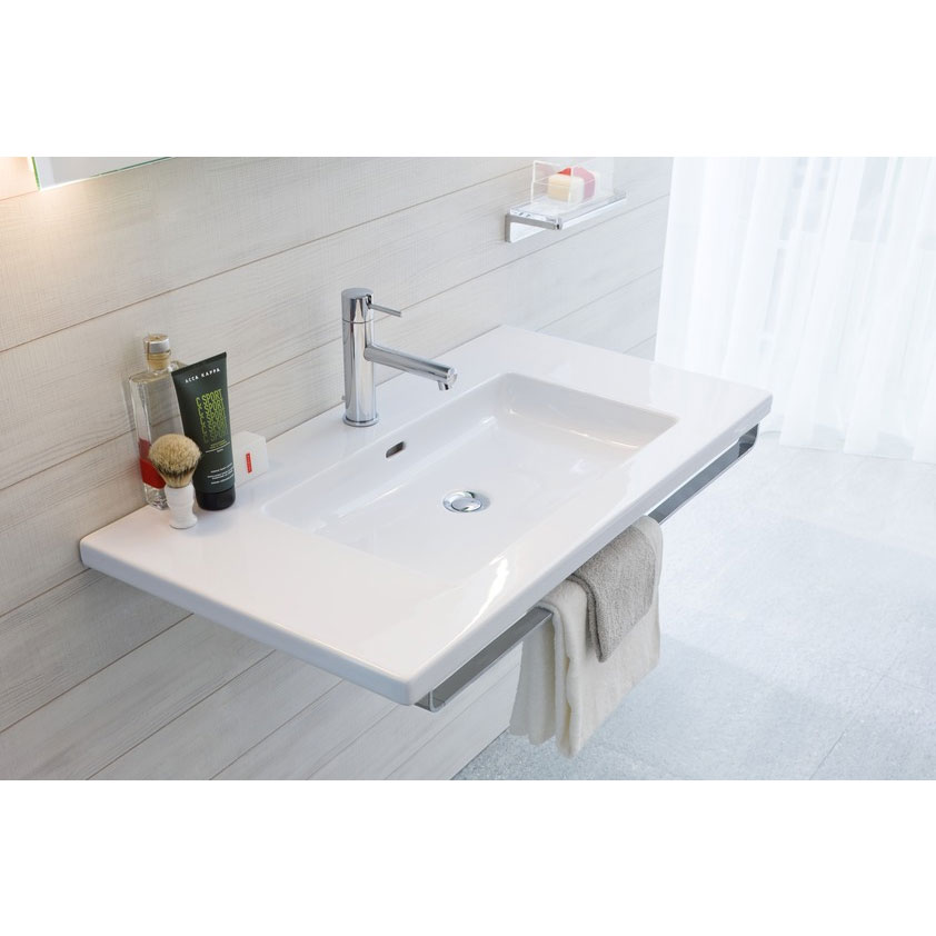 Laufen - Living Style Towel Rail for 680mm and 980mm Basins - 2 x Size Options profile large image view 1