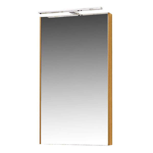 Miller - Nova 40 Illuminated Mirror - Oak Large Image
