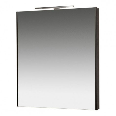 Miller - Nova 60 Illuminated Mirror - Black Large Image
