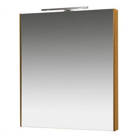 Miller - Nova 60 Illuminated Mirror - Oak Large Image