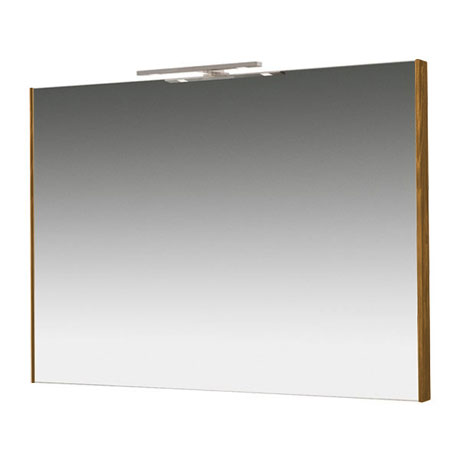 Miller - Nova 80 Illuminated Mirror - Oak