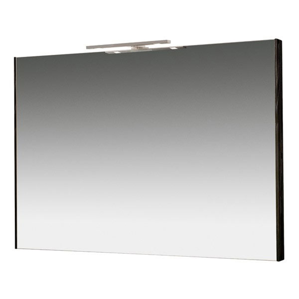 Miller - Nova 100 Illuminated Mirror - Black profile large image view 1