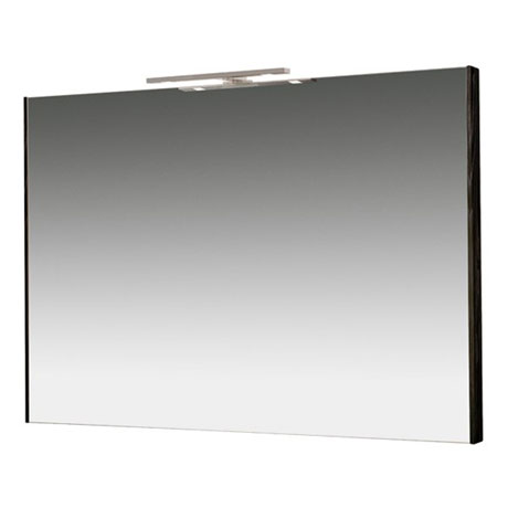 Miller - Nova 100 Illuminated Mirror - Black