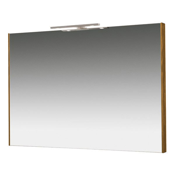 Miller - Nova 100 Illuminated Mirror - Oak profile large image view 1