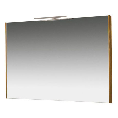 Miller - Nova 100 Illuminated Mirror - Oak