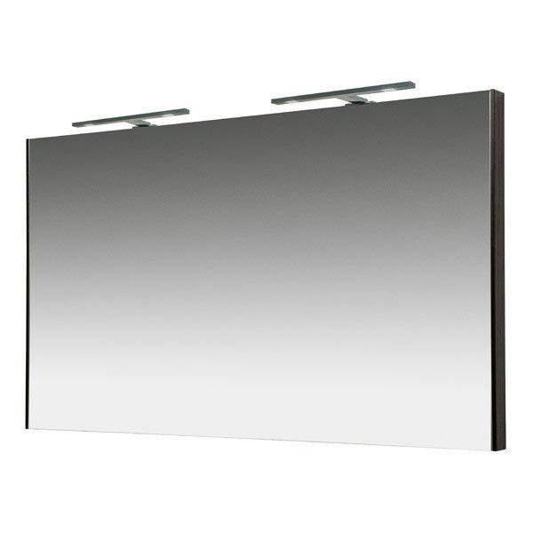 Miller - Nova 120 Illuminated Mirror - Black profile large image view 1
