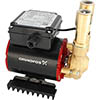 Grundfos Amazon SSP-2.0 B Brass Single Impeller Regenerative Shower Booster Pump 2.0 Bar profile small image view 1