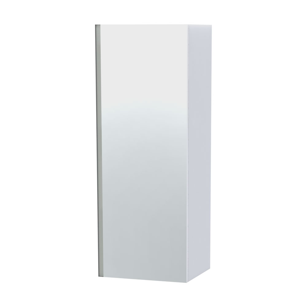 Miller - London Mirror Cabinet - White profile large image view 1