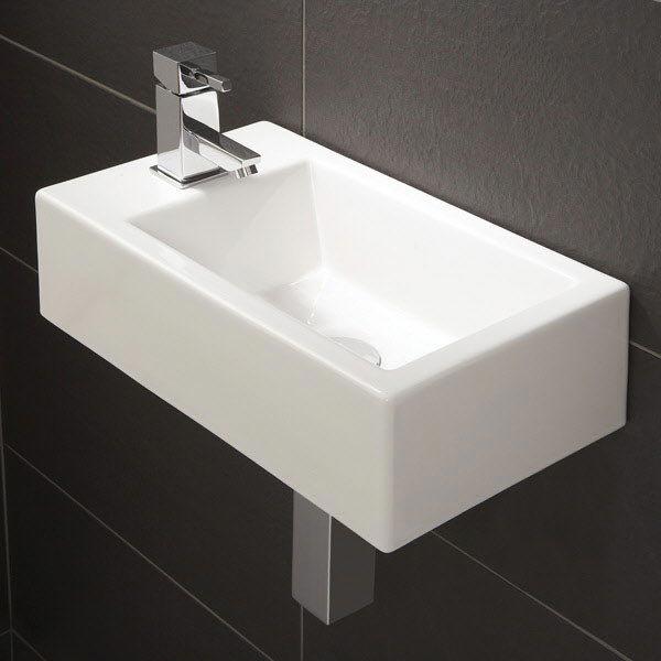 HIB Metro Cloakroom Washbasin - 9770 Large Image
