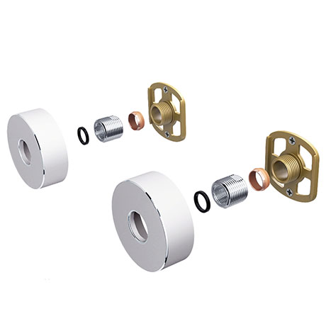 Round Easy Fix Kit Bracket for Bar Shower Valves