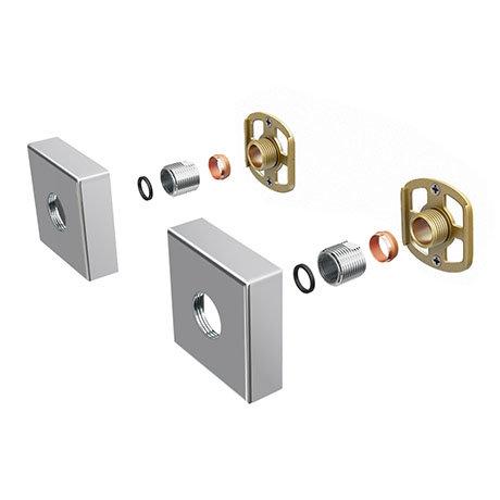 Square Easy Fix Kit Bracket for Bar Shower Valves