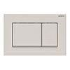 Geberit Sigma30 Dual Flush Plate - Matt White - 980.012.01.1 profile small image view 1