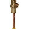 Grundfos 22mm York Flange Deflector profile small image view 1
