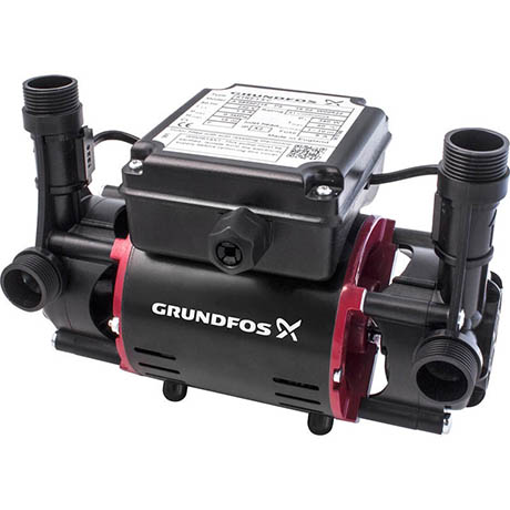 Grundfos STR2-1.5 C Twin Impeller Regenerative Shower Booster Pump 1.5 Bar
