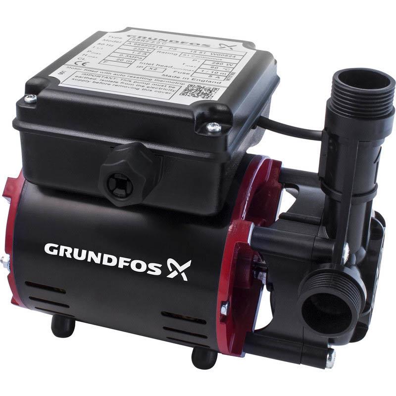 Grundfos SSR2-2.0 C Single Impeller Regenerative Shower Booster Pump 2.0 Bar