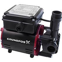 Grundfos SSR2-2.0 C Single Impeller Regenerative Shower Booster Pump Medium Image