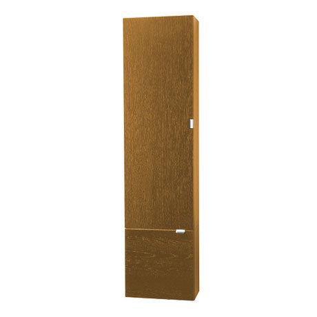 Miller - Nova Two Door Tall Cabinet - Oak