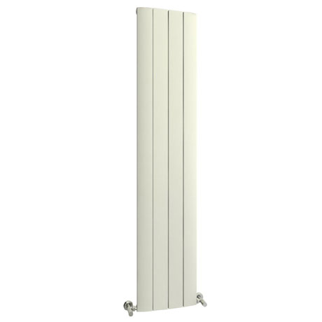 Reina Aleo Vertical Aluminium Radiator - White