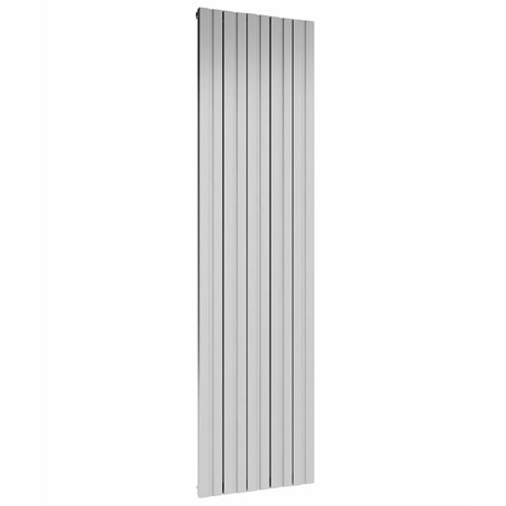 Reina Bova Vertical Double Panel Aluminium Radiator - Polished