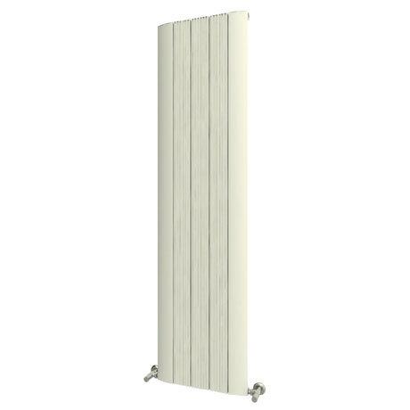 Reina Dalia Vertical Aluminium Radiator - White
