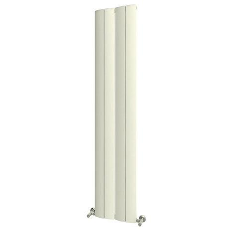 Reina Evago Vertical Aluminium Radiator - White